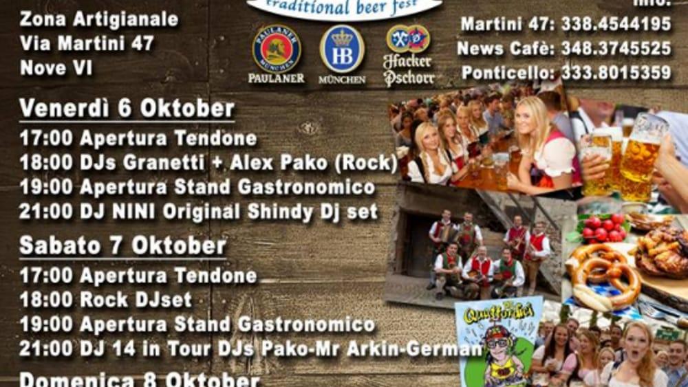nove oktober fest locandina 2017-2
