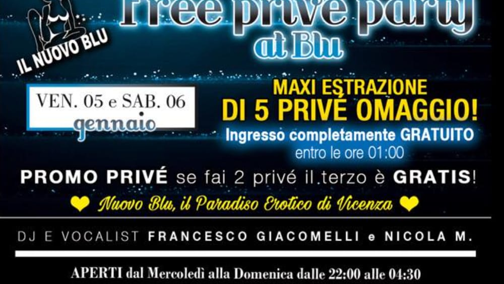 free privè party il nuovo blu-3