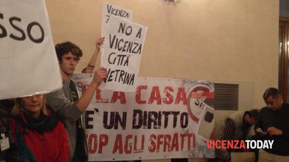 Zone rosse a Vicenza, proteste ma consiglio approva