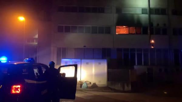 Incendio al Centro Benessere Mom: il video