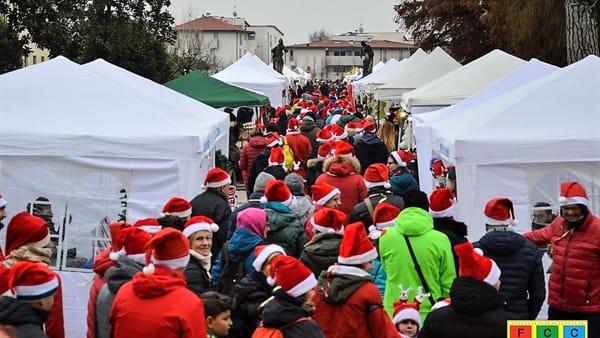 Natale a Caldogno: mercatino e marcia dei Babbi