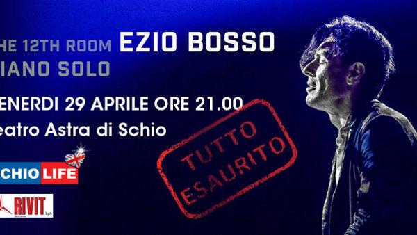 Ezio Bosso in concerto al Teatro Astra di Schio