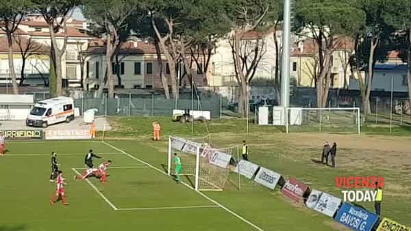 VIDEO | Pesaro-Vicenza: il gol di Arma