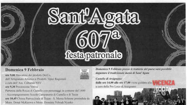 Mercatino della 607^ festa patronale di sant'Agata