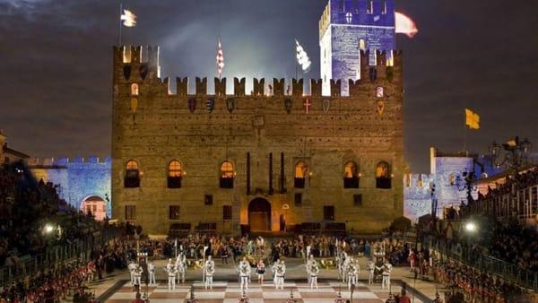 Marostica 1454, aspettando la Partita a Scacchi:spettacoli e mercati medioevali.