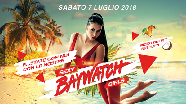 Baywatch Party al Lap Dance Kiss di Vicenza