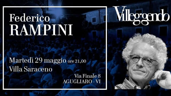 Villeggendo 2018: Federico Rampini a Villa Saraceno