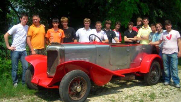 motori restauratori corso auto d'epoca bonfanti wimar museo dell'automobile-2