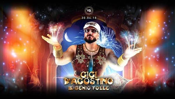 Gigi D'Agostino - Il Genio Folle a Villa Bonin