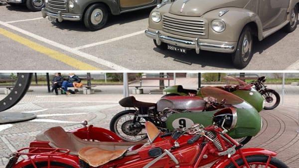 raduno auto e moto d'epoca collage-2