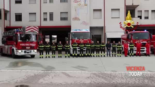 VIDEO | Pompieri morti ad Alessandria: minuto di silenzio a Vicenza