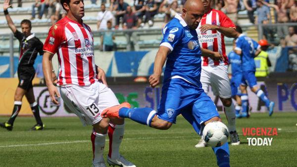 Tim Cup, Empoli Vicenza il 12 agosto 2012: Roberto Breda