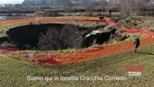 VIDEO | Cratere sul cantiere della Spv: il «video shock» di Cristina Guarda