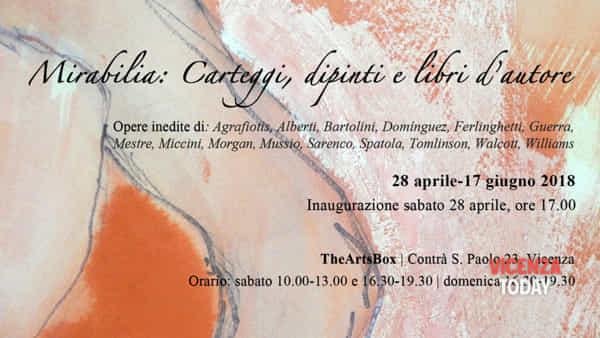 Mirabilia: Carteggi, dipinti e libri d'autore - mostra a Vicenza