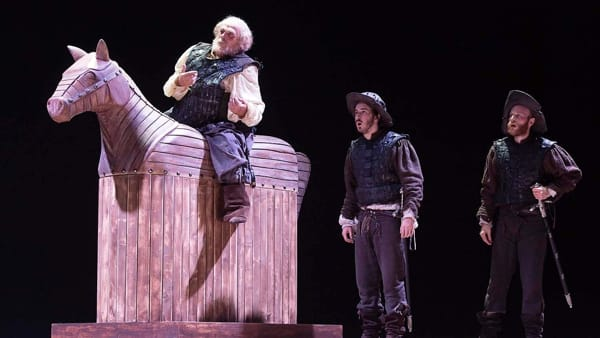 Falstaff: Franco Branciaroli e Massimo De Francovich a Lonigo
