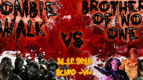 """Zombie Walk"" con live metal dei ""Brothers Of No One"" a Schio"