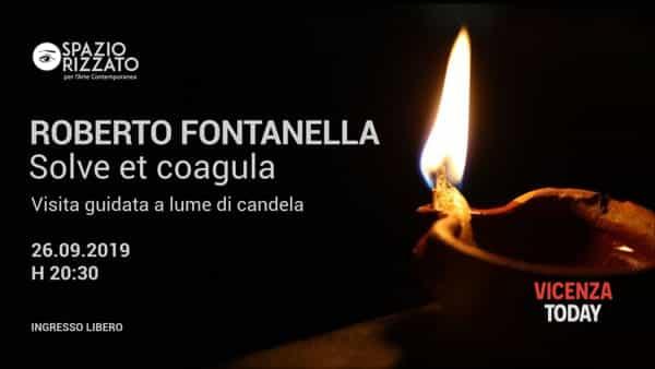 Visita alla mostra a lume di candela