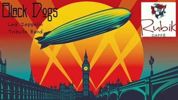 Black Dogs in concerto: Led Zeppelin cover band
