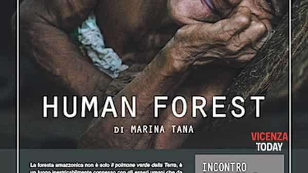 Human Forest di Marina Tana in mostra al Color Café di Bassano