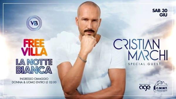 Free Villa - La Notte Bianca a Villa Bonin con Cristian Marchi