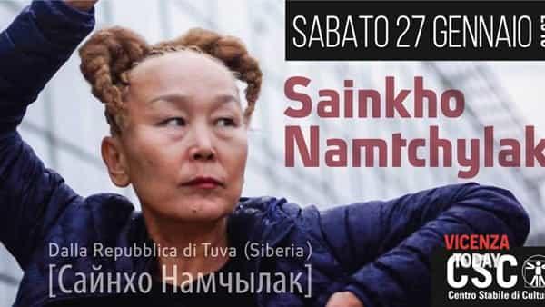 Sainkho Namtchylak (Tuva/Siberia)