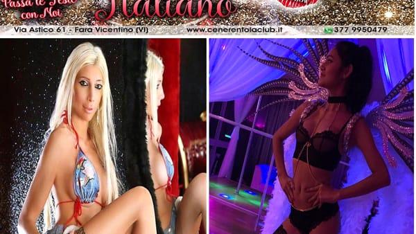 capodanno italiano cenerentola club perla chantal & emilia sexy girl-2
