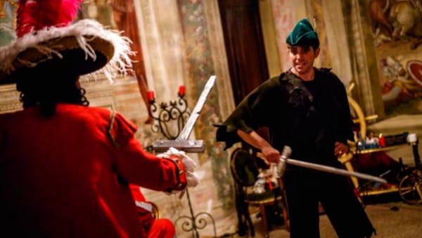 """Bis di """"Peter Pan alla ricerca della polvere di fata"""" al Castello di Thiene"""