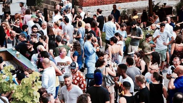 Vespaiolo New Wave in Piazza delle Erbe