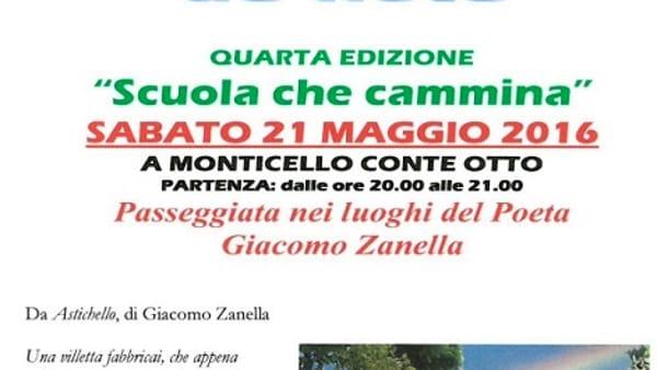 """""""Avanti e endrio par Monteseo de note"""" a Monticello Conte Otto"""