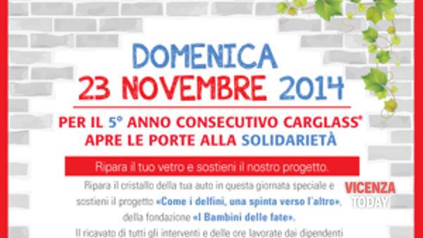"""domenica 23 novembre centri carglass aperti a vicenza e provincia a sostegno della fondazione """"i bambini delle fate""""-2"""