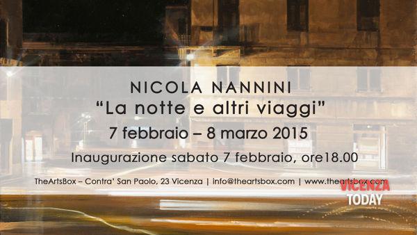 """nicola nannini: """"la notte e altri viaggi"""""""