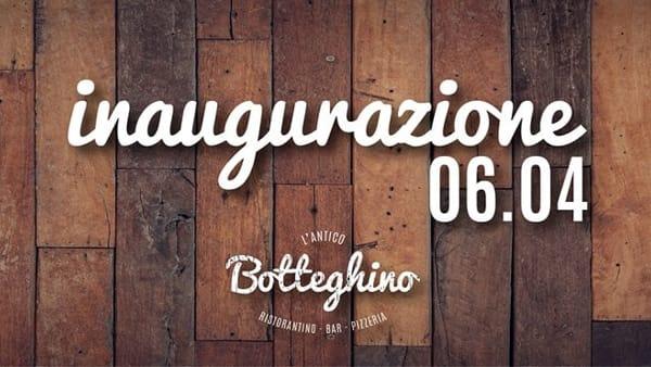 """Inaugurazione de """"L'antico Botteghino"""""""