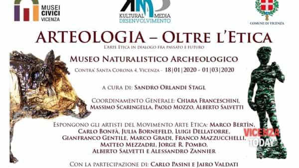 """Mostra """"Arteologia- oltre l'etica"""""""