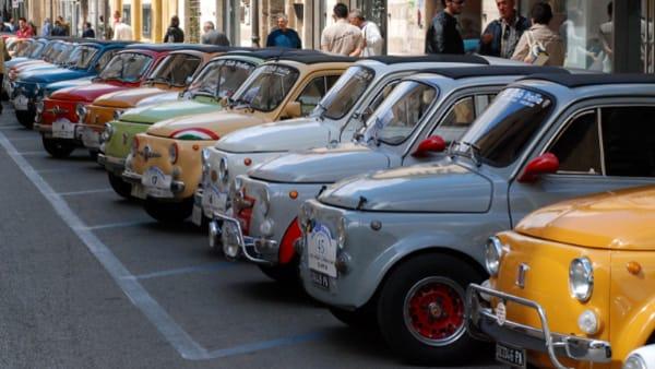 Raduno Amatori Fiat 500 a Brancafora di Pedemonte