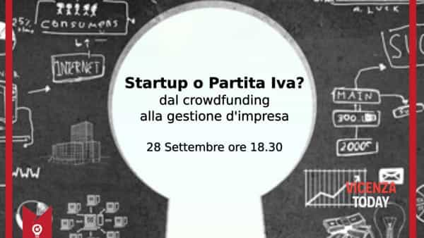 """Startup o Partita Iva?"": dal crowdfunding alla gestione d'impresa"