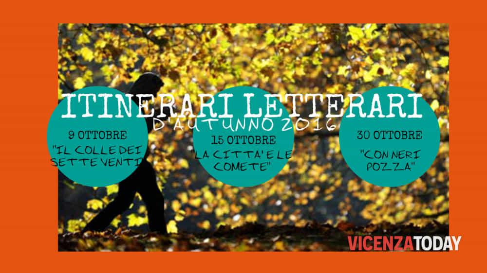 """Locandina """"Itinerari Letterari d'Autunno"""" (immagini di archivio)"""