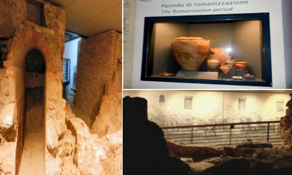Area Archeologica dei Bissari (immagini di archivio)