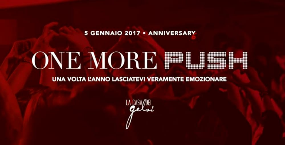 """One More Push: Anniversary 6"" (foto facebook)"