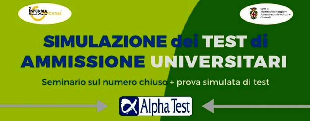 Simulazione test di ammissione universitari a Montecchio Maggiore (immagine di archivio)