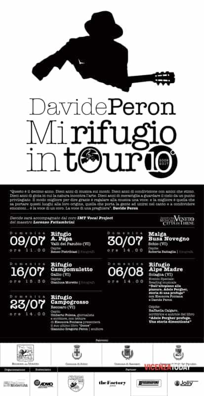 """""""Mi Rifugio in Tour"""" (immagini di archivio)>"""