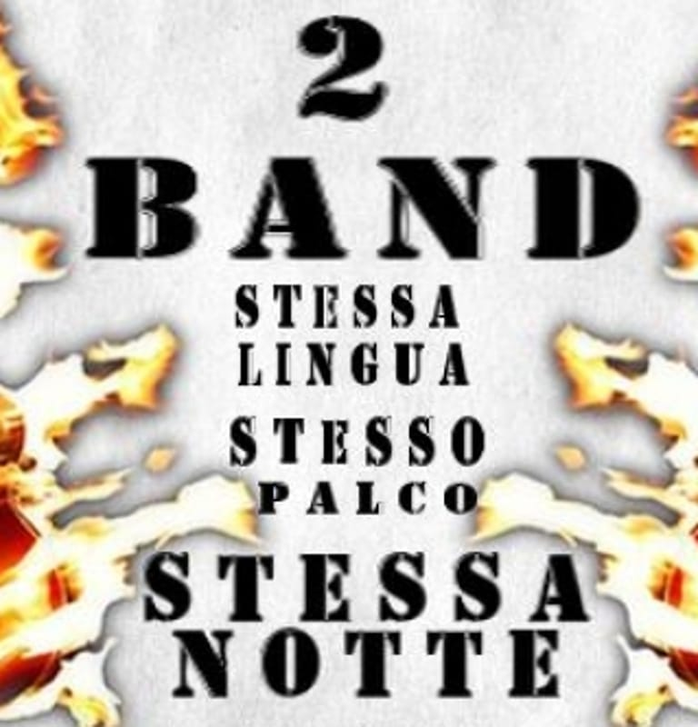 "Locandina ""Notte di fuoco"" (foto facebook)"