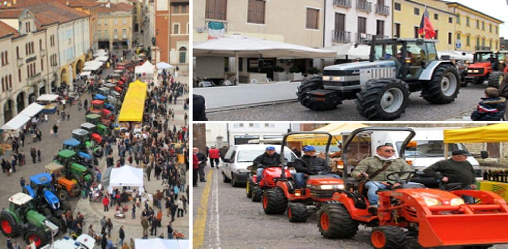 Raduno e sfilata delle macchine agricole a Marostica (immagini di archivio)