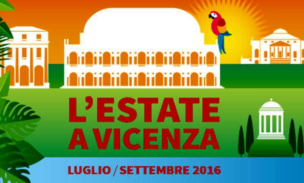 """Locandina """"L'Estate a Vicenza 2016"""" (foto facebook)"""