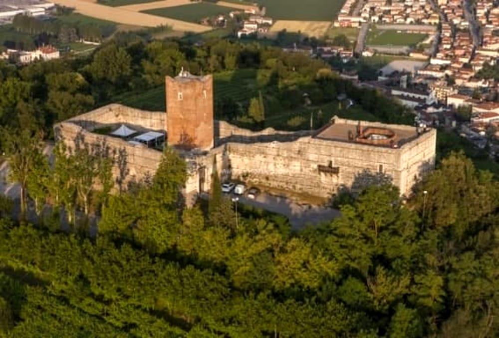 Castelli di Romeo e Giulietta a Montecchio Maggiore (immaggini di archivio)