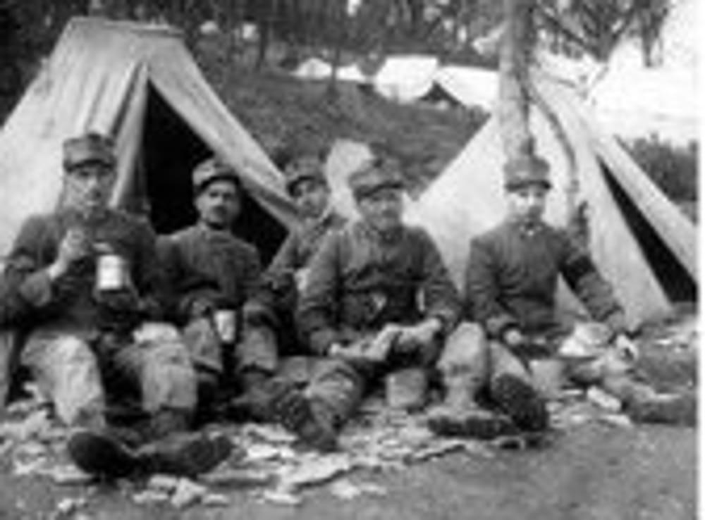 Alimentazione Militare nella Grande Guerra (immagini di archivio)