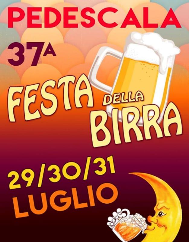 """Locandina """"Festa della Birra e Sagra degli Avannotti de l'Astego"""" (foto facebook)"""