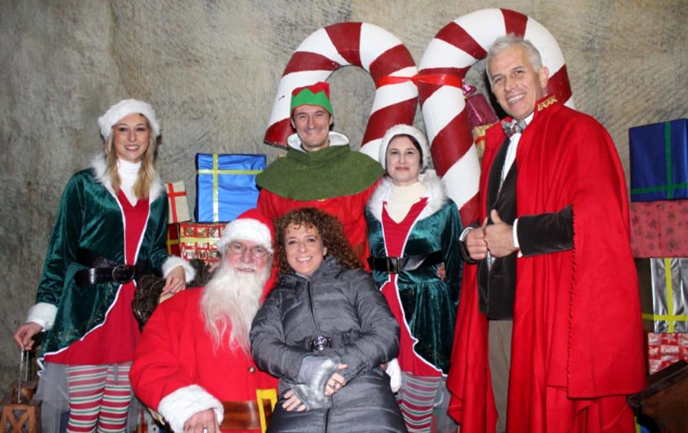 La Vera Dimora di Babbo Natale (immagini di archivio)