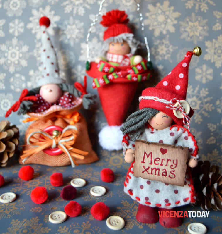 Gnomi e Folletti di Natale (immagini di archivio)