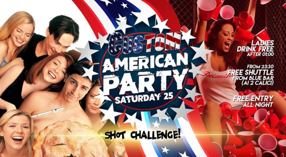 """American Party"" (immagini facebook)"