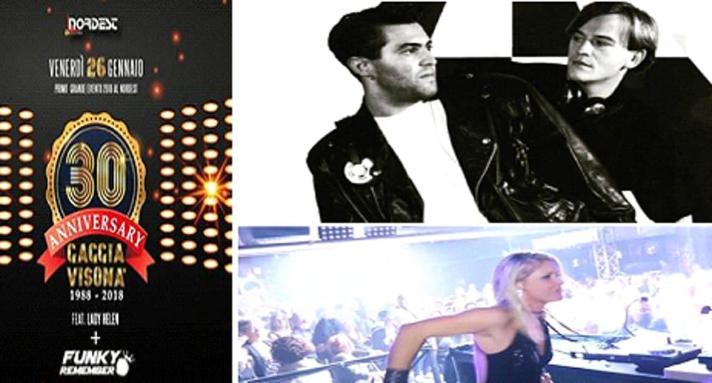 collage fotografico 30° Anniversario Gaggia & Visonà (immagini di archivio)